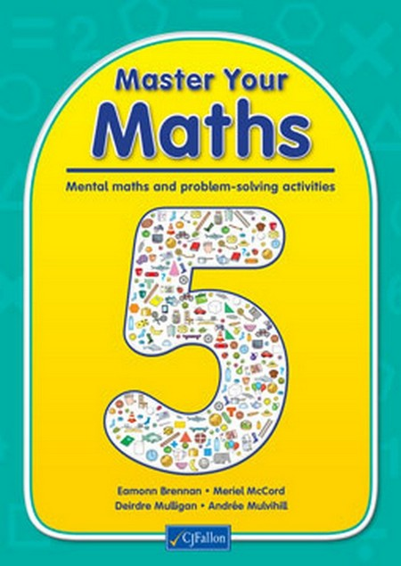 Master Your Maths 5 5th Class | Maths | Fifth Class | Primary Books