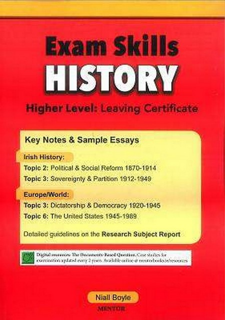 leaving cert history essays History in the leaving certificate is a daunting essay-writing challenge.
