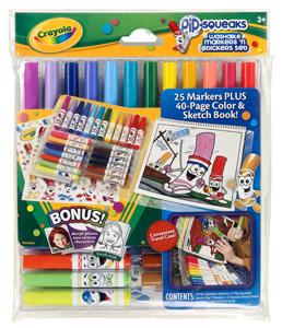 Pipsqueaks Marker & Sticker Set