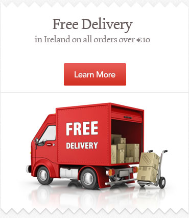 Free Ireland Delivery on All Orders