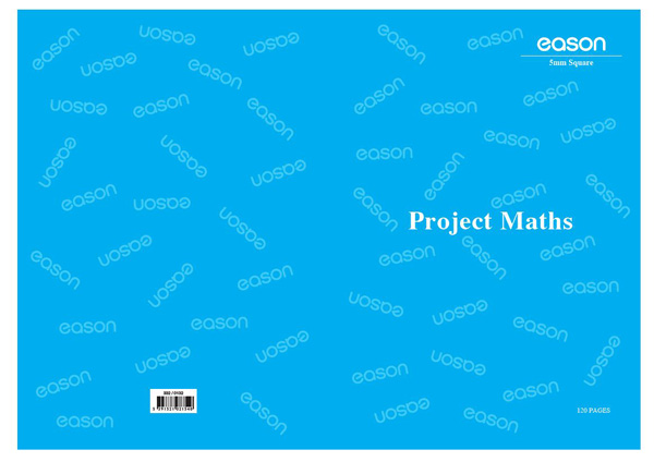 Eason A4 120Pg Project Maths Copy Squared | Exercise Books and ...