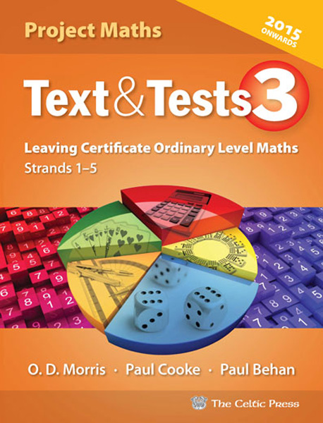 text and tests 3 leaving cert ordinary level maths leaving certificate secondary books. Black Bedroom Furniture Sets. Home Design Ideas