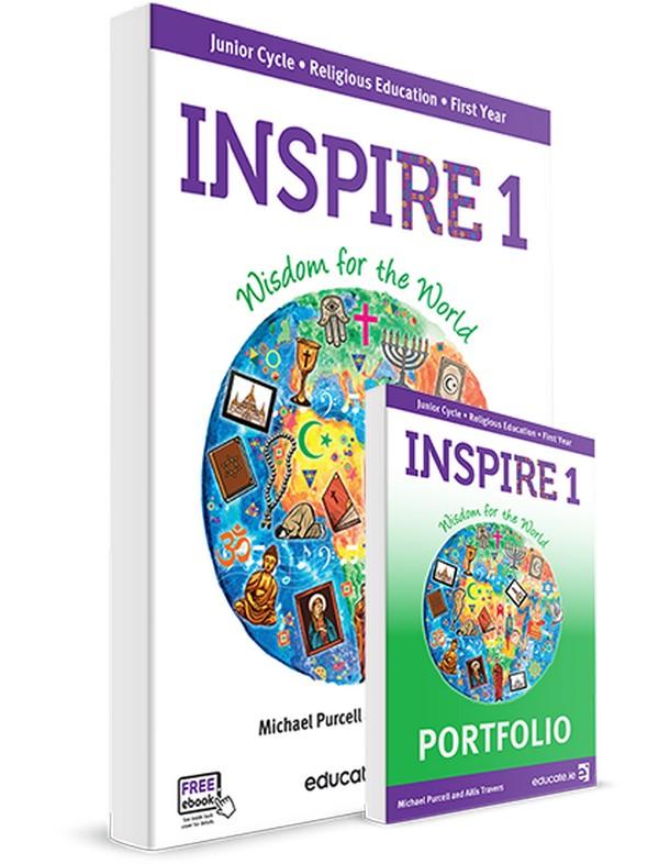 Religion Inspire 1 Textbook & Portfolio Book | Religion | Junior