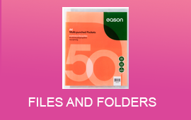 Shop files and folders at easonschoolbooks.com. Next day delivery when ordered before 12pm.