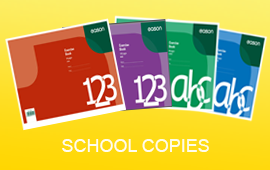 Copy books and exercise copies on easonschoolbooks.com